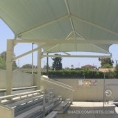 NorCAL Cantilevered Shade Shelter 7