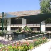 Norcal Courtyard Shade Sail Structure
