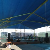 NorCAL Outdoor Stage Shade Structure