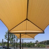 NorCAL Partial Cantilever Tension Fabric Structure 4