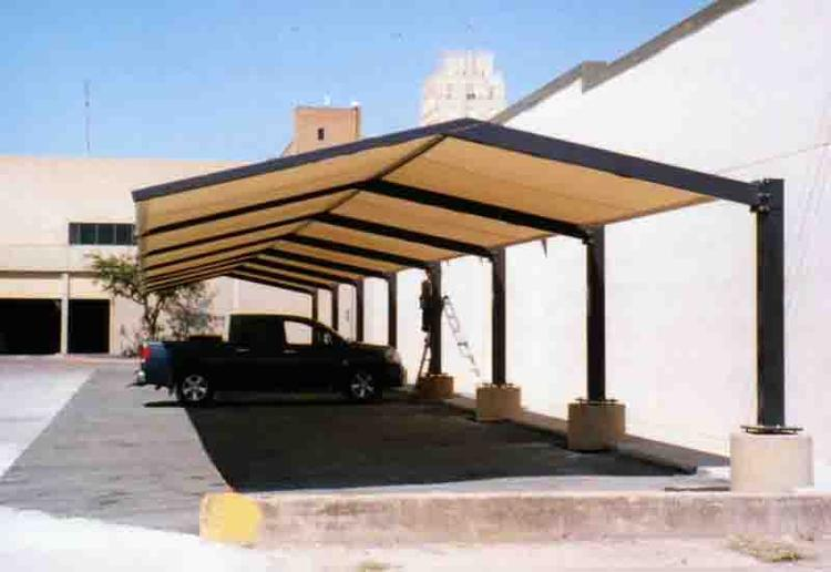 This cantilevered ... & Parking Shade Canopy - Covered Parking Structures -California Carports