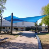 Patio Architectural Fabric Structure 3