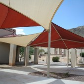 Patio Shade Kites 24