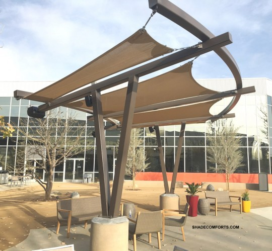 Patio Shade Structure San Diego Cantilever