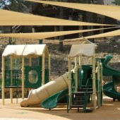 Playground Architectural Shade Sails Structure 7
