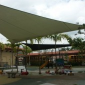Playground Shade Sail 17