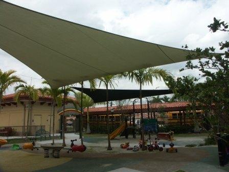 Playground Shade Sails 18