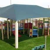 Playground Sun Shade Cover 1