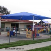 Playground Tensioned Fabric Structure 4