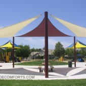 Sacramento Patio Tensile Shade Structure 5