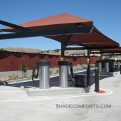Car Wash Shade Structures – Auto Detailing Canopy – California