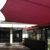 San Francisco Hotel Patio Shade Sails Awning 27