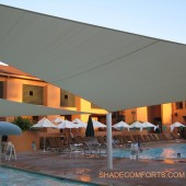 Pool Shade Structures – Aquatic Center Canopies – California