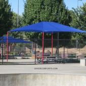 Shade Canopy Skate Park Sacramento 9