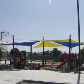 Shade Sails San Diego Playground 25