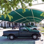 Shade Structure Corporate Parking Lot 5