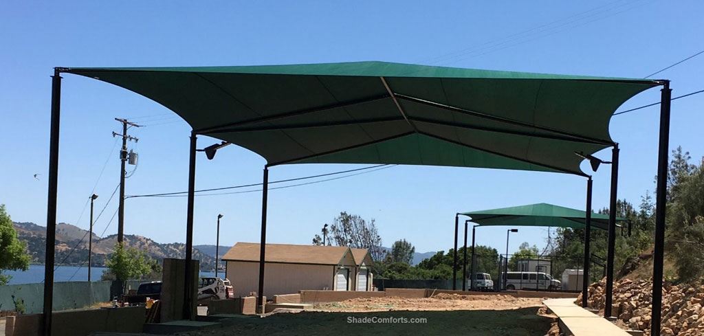 Super Span Hip Roof Shade Canopy