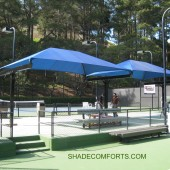 T Bar Double Hip Shade Structure 16