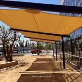 Tensile Fabric Shade Shelter 27
