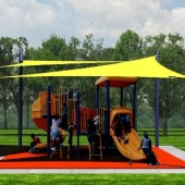 Tensile Structure NorCAL Playground 17