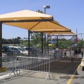 Transit Shelters – Transportation Stop Canopies – Waiting Area Shade Covers