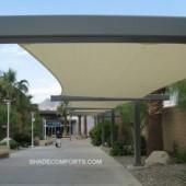 Walkway Covers Cool California Airport