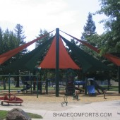 Yolo Country Playground Tensile Structure 2